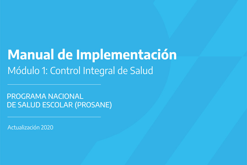 portada: PROSANE - Manual de implementación - mod. 1